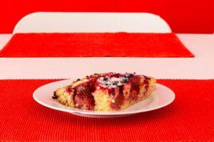 Erdbeeren-Früchte Kuchen