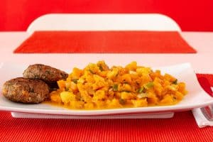 Kürbis- Karottengemüse