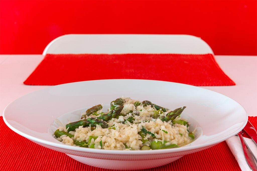 You are currently viewing Grüner Spargel Risotto