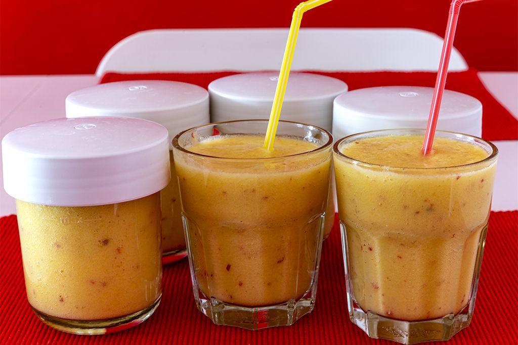 Ananas-Mango-Apfel Smoothie